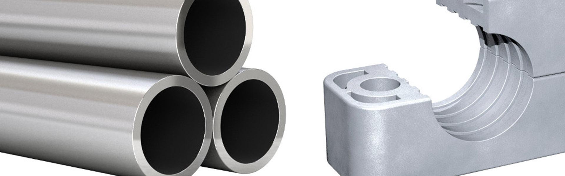 Hexafluid componenti oleodinamici tubi e collari