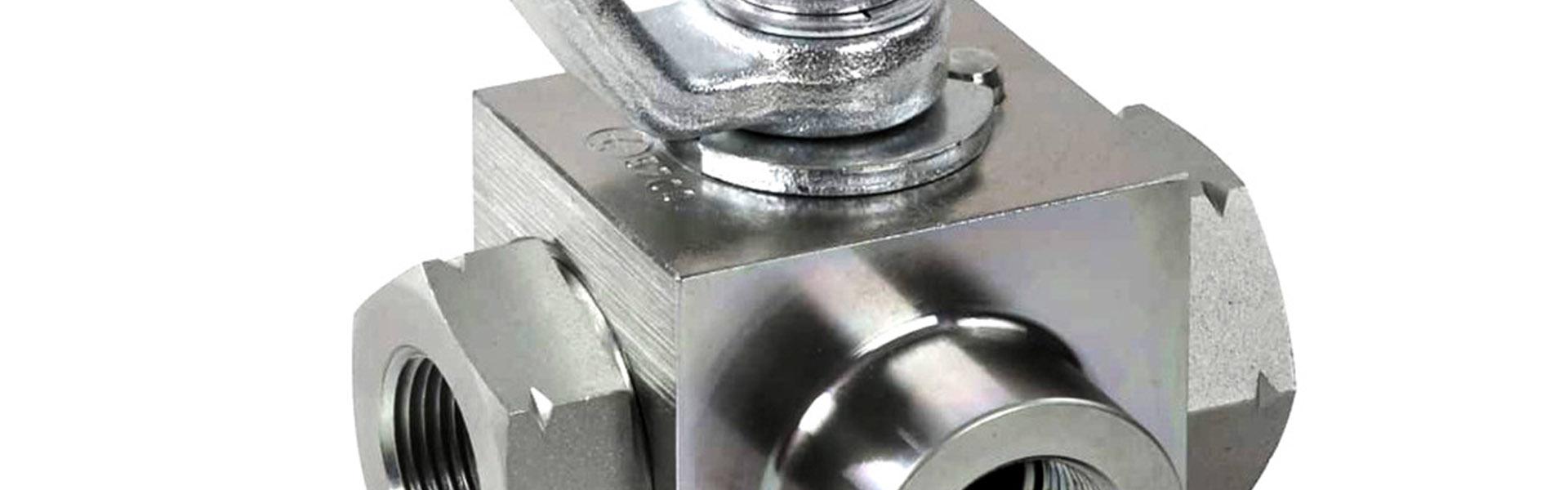 Hexafluid componenti oleodinamici valvole